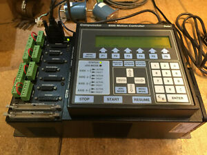 Parker Compumotor 4000 Motion Controller With Control Panel Works W Gpib