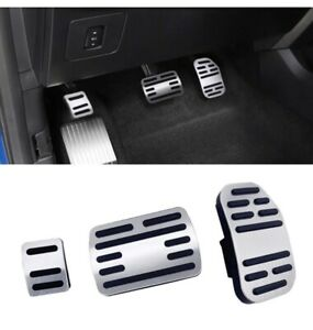 No Drill Pedal Covers For Ford F150 Aluminum Alloy Anti slip Gas Pedal Cover