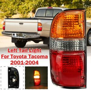 Left Driver Side Rear Tail Light Brake Lamp Assembly For Toyota Tacoma 2001 2004