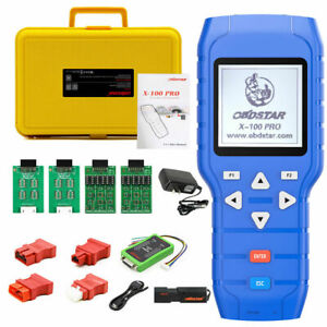 Obdstar X 100 Pro Auto Car Programmer C D E Type For Immo Obd Software Scan Tool