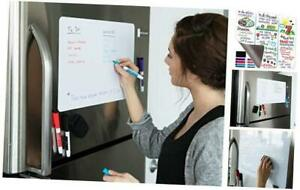Magnetic Dry Erase Whiteboard Sheet For Kitchen Fridge With Stain Resistant Tec