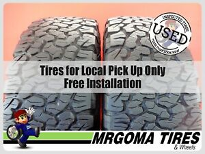 2 Bfgoodrich All Terrain T a K02 Lt285 70 17 Used Tires 8 5 32 Rmng 2857017