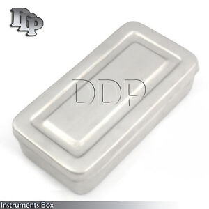 28x14x6 Cm Surgical Instruments Box Stainless Steel High Quality Dn 2272