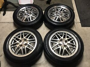 15x6 Original Rim Mesh Wheel Oem Acura Integra Gs Ls Alloy 97 01 W Center Caps