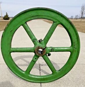 2 Hp Fairbanks Morse h Non Governor Side Flywheel Hit Miss Gas Engine Antique