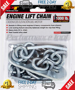 American Power Pull W41032 Engine Lift Sling W 1000lb Capacity engine Lift Chain