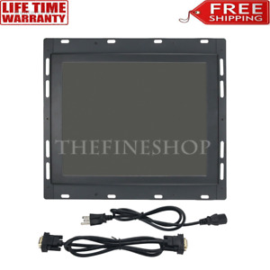 Industrial Lcd Monitor 9 pin Monochrome For Haas 28hm nm4 93 5220c Vf1 Vf2 Vf3