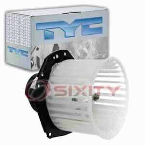 Tyc Front Hvac Blower Motor For 1992 1996 Chevrolet K1500 Heating Air Rs