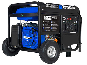 Duromax Xp13000e 13000 Watt Portable Electric Start Generator New Free Shipping