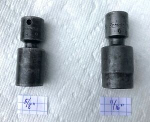 Snap On 3 8 Drive 6 Point Swivel Impact Socket Sold Individually