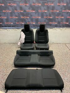 2014 Camaro Ss Coupe Oem Black Cloth Front Rear Seats One Blown Bag