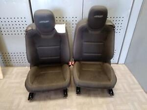 2012 2015 Chevrolet Camaro Front Seat Set Ss Coupe Cloth Electric Oem 2013