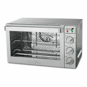 Half size Convection Oven 120v Waring Commercial Wco500x