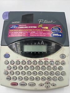 Brother P touch Model Pt 1810 Electronic Label System