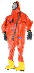 Drager Workmaster Xl 46 Chemical Protective Suit Chemical Safety Suit