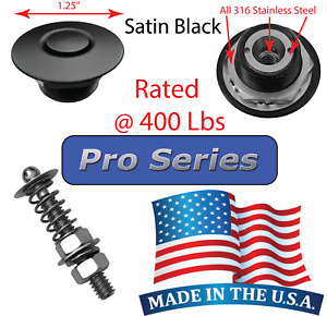 Pro Series 1 25 Satin Quick Release Push Button Hood Pin Lock Clip Latch Dzus Q