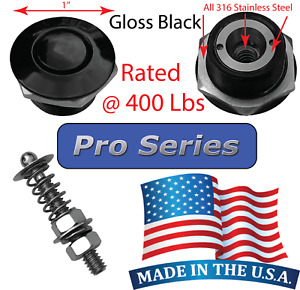 Pro Series 1 Quick Release Push Button Hood Pin Bonnet Lock Clip Bumper Latch Q