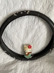 Steering Wheel Cover Hello Kitty Universal Fit 14 5 15 5 Car With Dash Doll