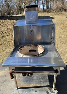 36 Commercial Natural Gas Single Burner 18 Wok Range 100 000 Btu hr Used