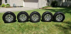 5 Tires And Wheels Lt255 75r17 Jeep Oem