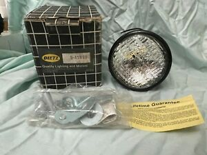 Dietz 9 45 9 45601 Driving Fog Auxiliary Light Vintage Rat Rod Nip 1