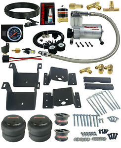 Air Tow Kit Black In Cab Control For 4 Lifted 2018 19 Chevy Silverado 2500 3500