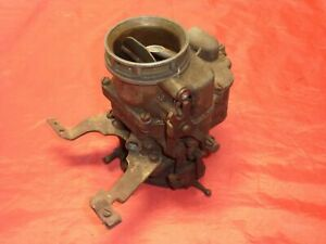 Ford 94 Holley Carburetor Eab With Throttle Bracket Decent Core