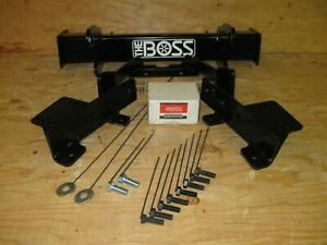 Boss Snow Plow rt3 Full Size Only Truck Mount Lta05300 04 08 Ford F150 Only