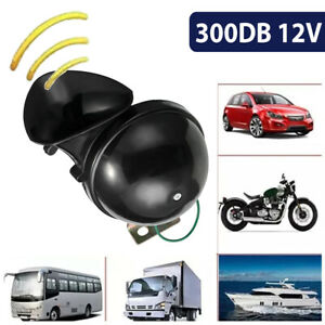 12v Train Horn Super Loud Electric Snail Air Horn For Motorcycle Car Truck Boat