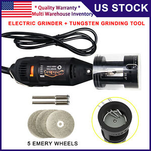 3mirrors Tig Welding Tungsten Electrode Sharpener Grinder Tool W Rotary Tool