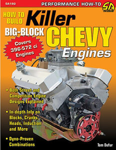How To Build Killer Big Block Chevy Engines Book Street Strip 396 572 New
