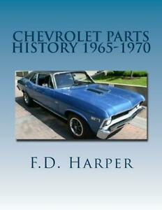 Chevrolet Parts History 1965 1970 Find Identify Original Parts New