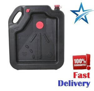 Oil Change Drain Container Pan 16 Quart Leakproof High Capacity Car Truck Moto