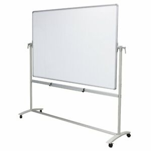 Viz pro Mobile Whiteboard With Steel Stand Double sided Magnetic Dry Erase Board