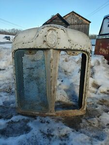 Antique 1950s Fordson Tractor backhoe Grill radiator Surround Wall Art