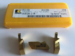 Kennametal Nfd3125rk Deep Grooving Grade Kc730 Inserts 5 Inserts As Shown