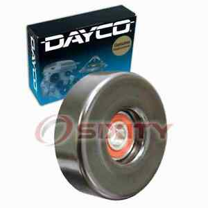 Dayco Drive Belt Idler Pulley For 1990 Ford Bronco Ii Engine Bearing Tension Nl