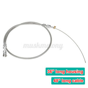 For Ls1 4 8 5 3 5 7 6 0 Engine Universal 36 Stainless Steel Throttle Gas Cable