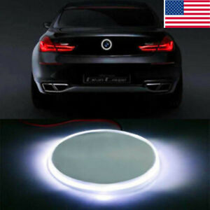Background 82mm Tail Badge Logo Led Light For Bmw 3 5 7 Series X3 Syjiip