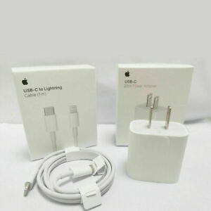 For iPhone 12 11 Pro Max iPad 20W Fast Charger USB C PD Type C Original Adapter $21.99