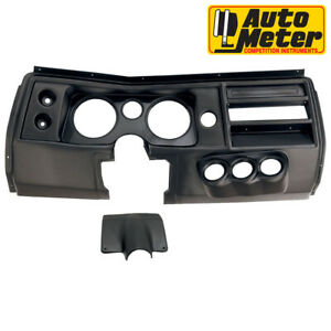 Autometer 2903 Dash Direct Fit Mounting Gauge Panel For Chevelle 1968 no Vent
