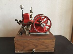 Associated Hired Man Hit Miss Gas Engine 1 3 Scale Model By Breisch