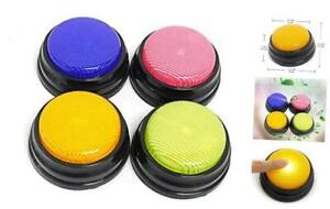 Learning Answer Buzzers recordable Talking Button With Led Function Learning