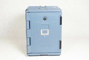 Open Box Insulated Food Carrier Outdoor Food Delivery Cabinet With Six Pan 90l