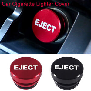 12v Universal Fire Missile Eject Button Car Cigarette Lighter Cover Accessory K