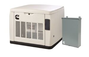 Cummins 20kw Quiet Connect Series Home Standby Generator And Transfer Switch