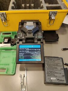 Fujikura Fsm 50s Sm Mm Fiber Core Alignment Fusion Splicer W Cleaver Ct 30