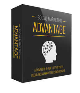Social Marketing Advantage Resell Rights ebooks Save 97 off Complete Course 123
