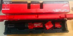 Milwaukee Electric Tools 2466 20 M12 Fuel 1 2 Digitial Torque Wrench W One key