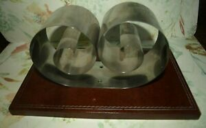 Vintage Art Deco Automatic Book Rack Book Ends For Desk Or Bookcase